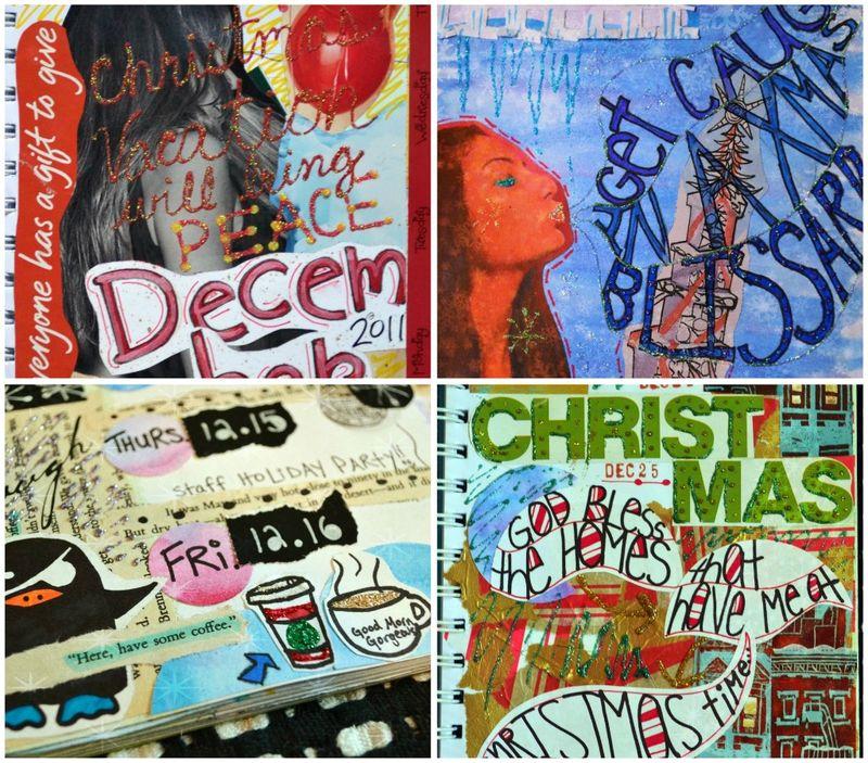 December collages