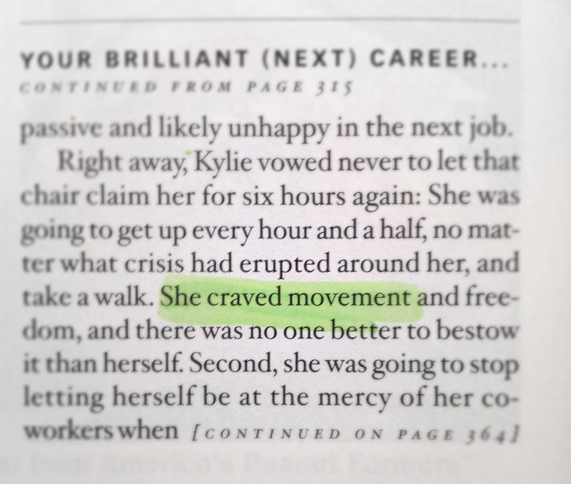 Craved movement