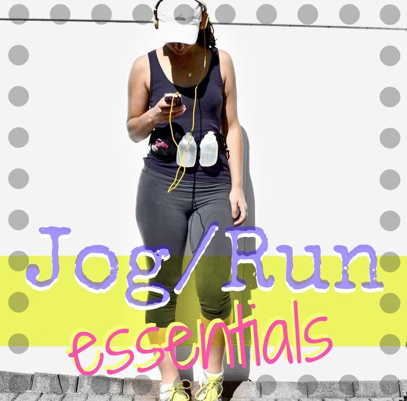 jog run essentials amanda rose zampelli the blog