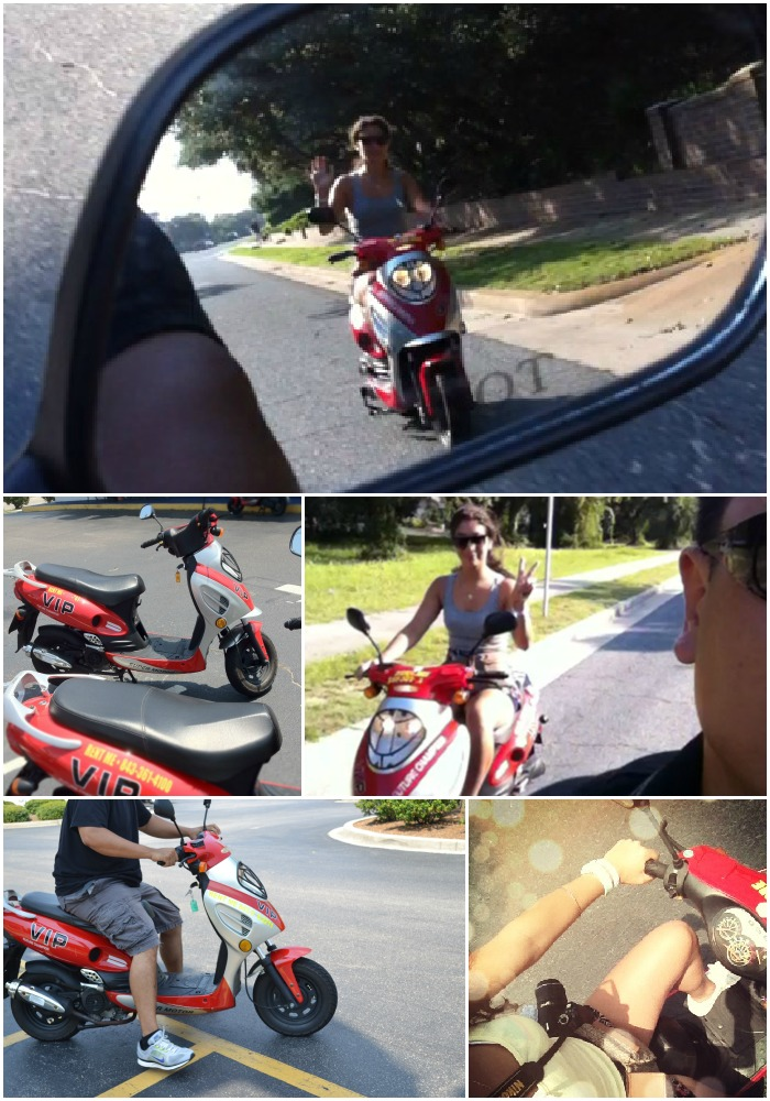 12 moped collage