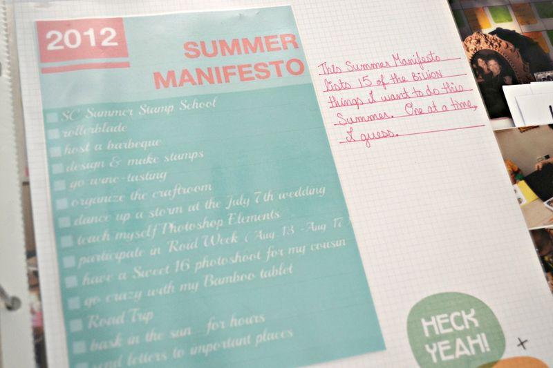 Week25_06 SummerManifestopage