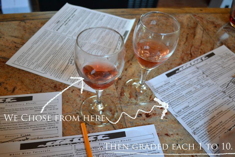 Graded wine
