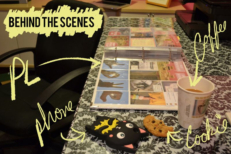 Behind scenese