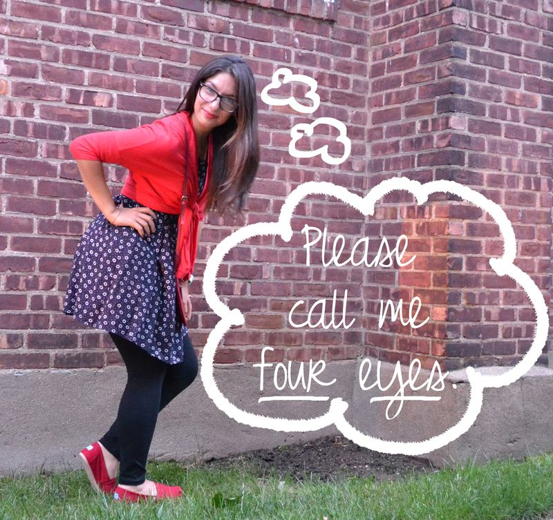 Red & navy outfit 01 writing