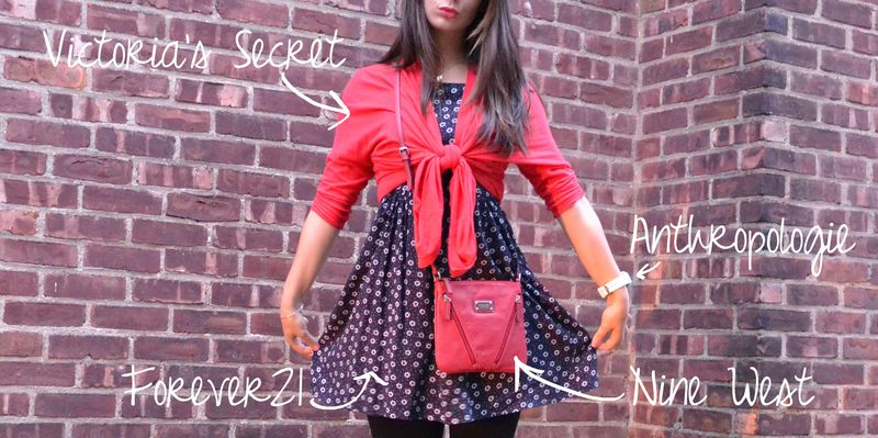 Red & navy outfit 02 writing