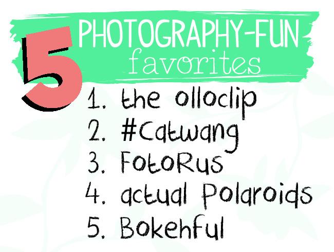 Five PHOTO Favs