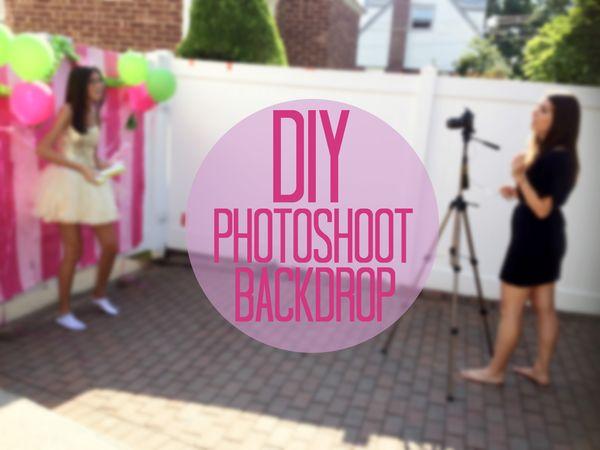 Diy Photoshoot Backdrop Amanda Rose Zampelli The Blog
