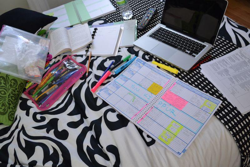 Swamped in school work