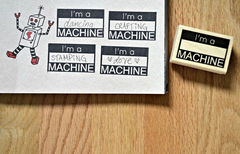 I'm a _blank_ machine