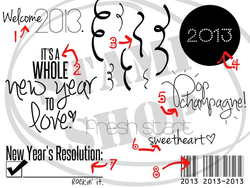 NewYEARs bunch LOGO backgrnd NUMBERS