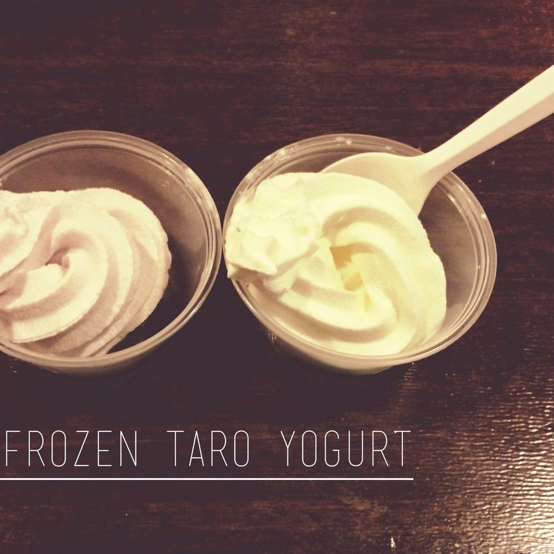 FROZEN TARO YOGURT