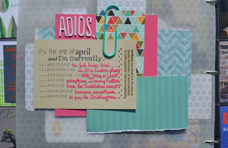 16 currentlies April