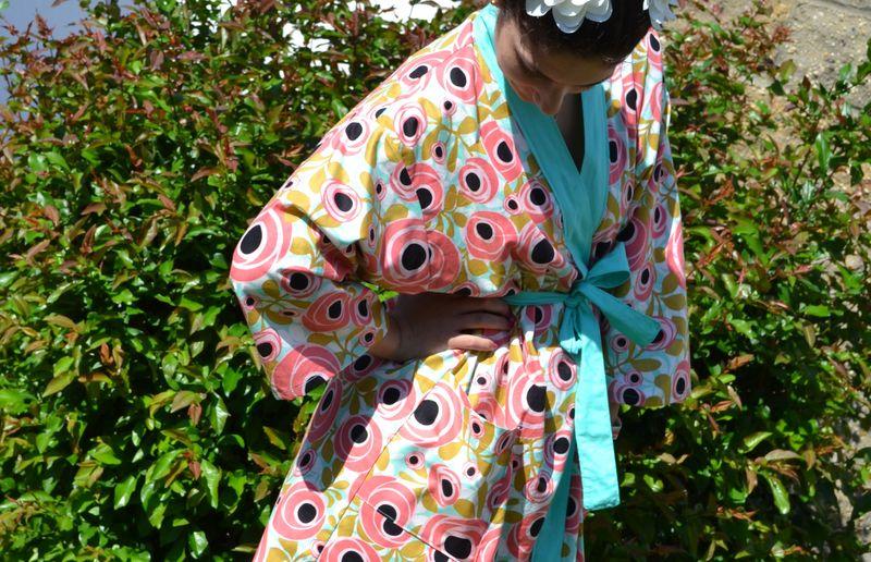 Kimono robe 03