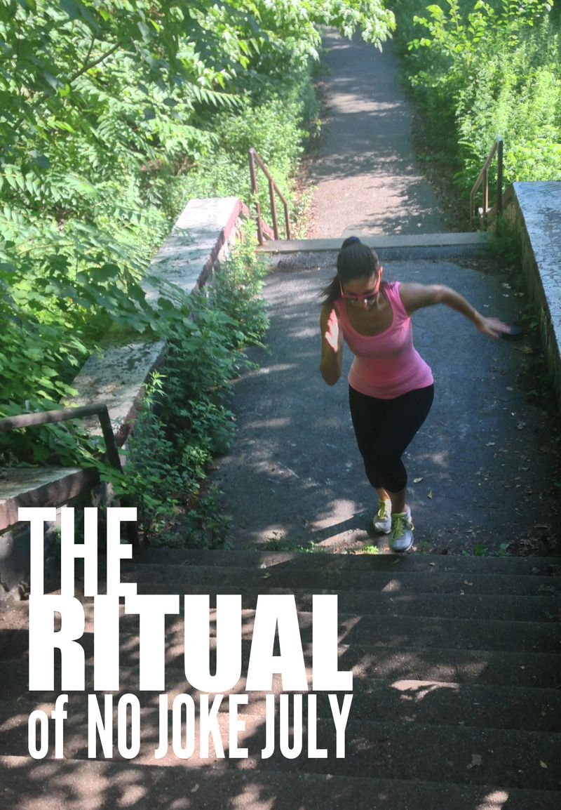 Ritual of NO JOKE JULY | Amanda Rose blog