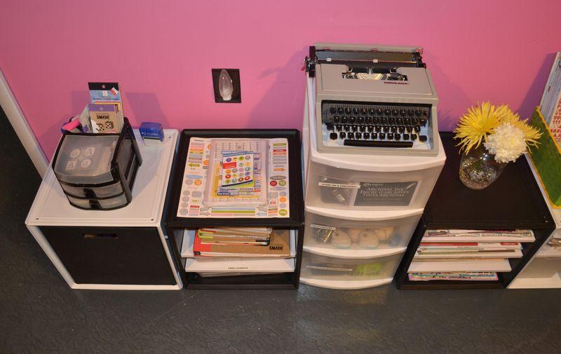 Mega Pink Craftroom Reorganized 08 | Amanda Rose blog