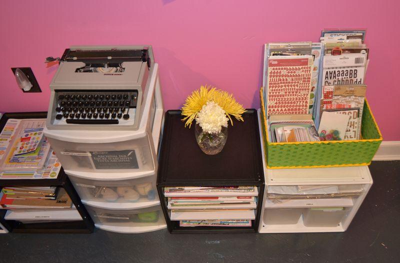 Mega Pink Craftroom Reorganized 09 | Amanda Rose blog