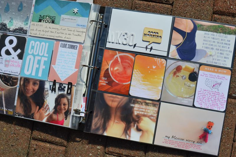Project Life |week 30| 17 | Amanda Rose blog