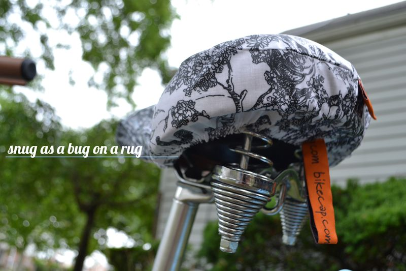 Eleanor's Bike Seat Cover review 05 | Amanda Rose blog