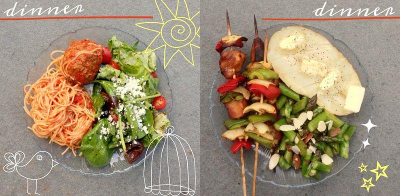 01 dinner collage