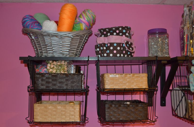 Mega Pink Craftroom Reorganized 10 | Amanda Rose blog