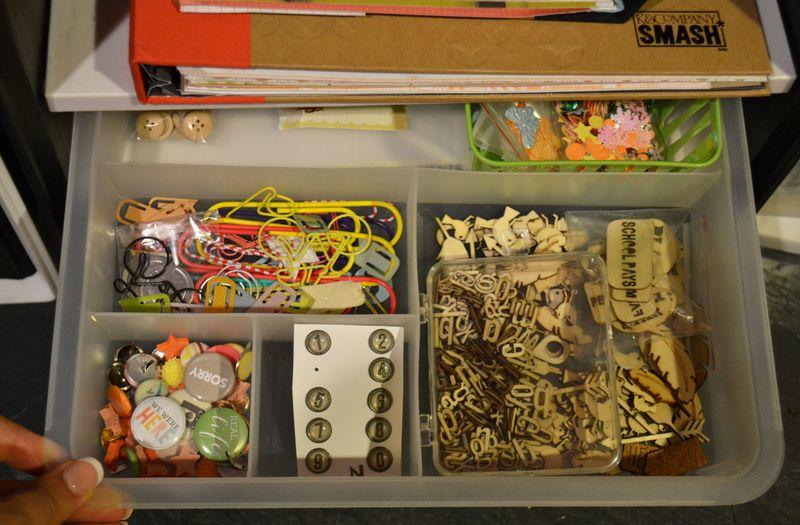 Mega Pink Craftroom Reorganized 08 01 | Amanda Rose blog