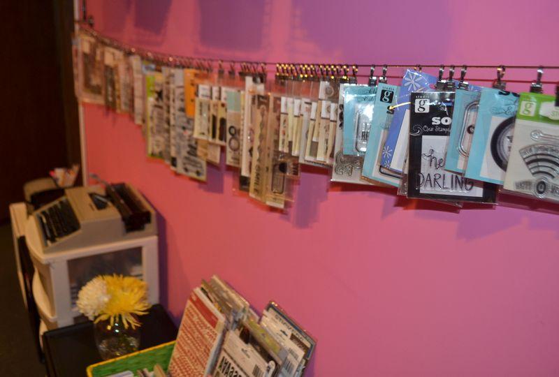 Mega Pink Craftroom Reorganized 09 03 | Amanda Rose blog