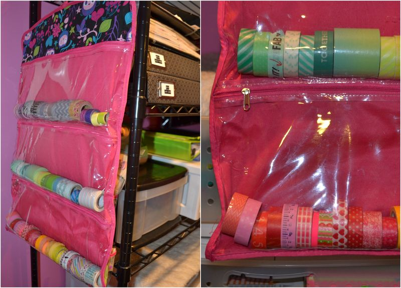 Mega Pink Craftroom Reorganized 13 02 | Amanda Rose blog