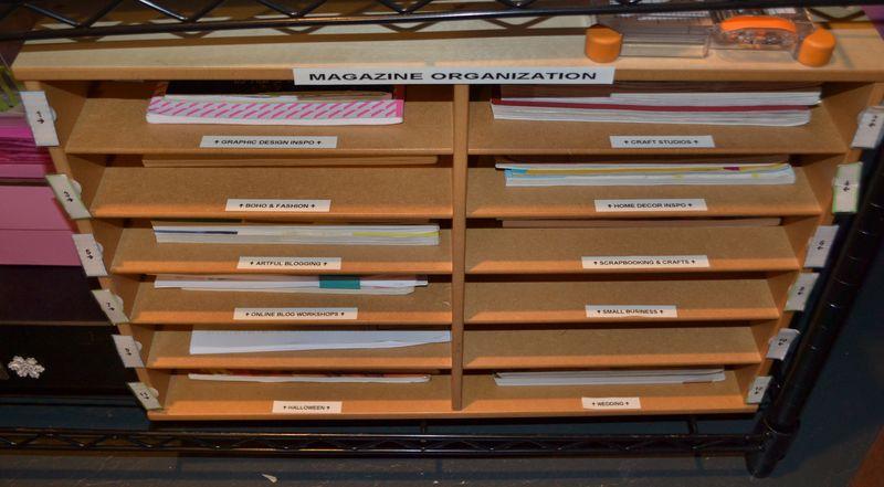 Mega Pink Craftroom Reorganized 14 | Amanda Rose blog