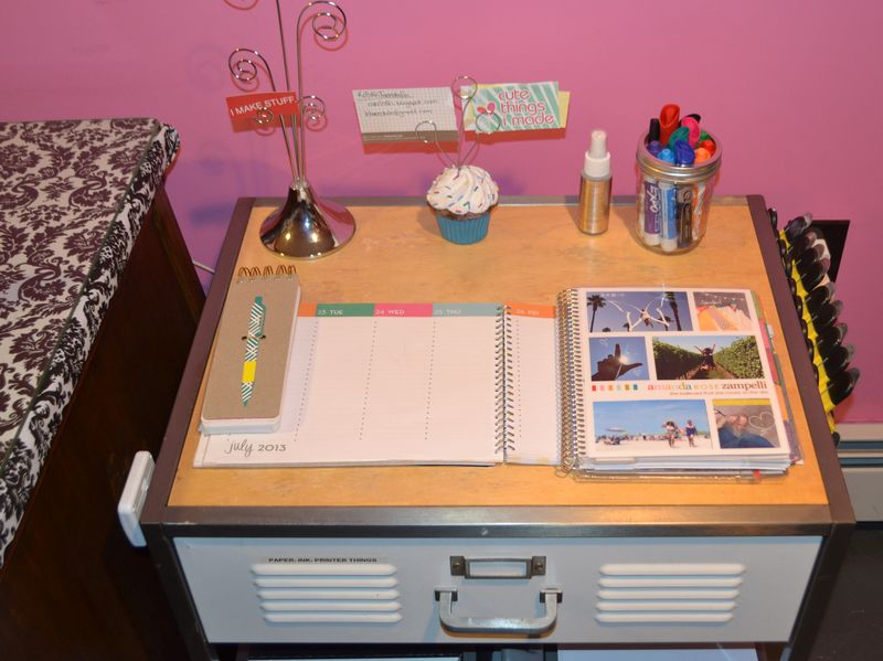 Mega Pink Craftroom Reorganized 17 | Amanda Rose blog