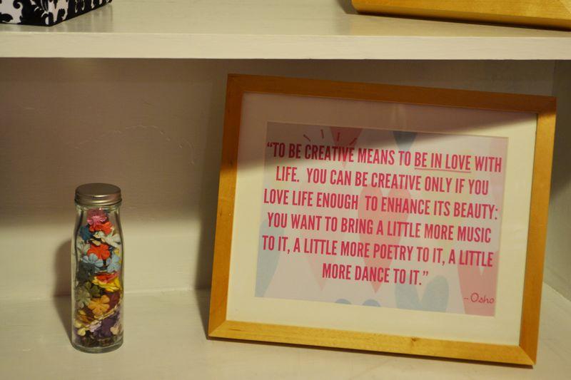 Mega Pink Craftroom Reorganized 05 | Amanda Rose blog