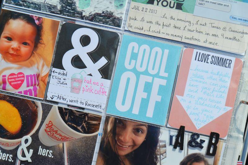Project Life |week 30| 05 | Amanda Rose blog