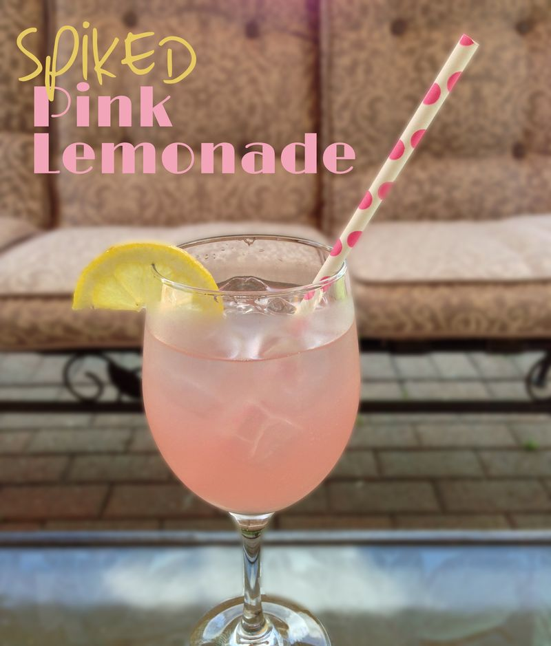 Spiked PINK LEMONADE | Amanda Rose blog