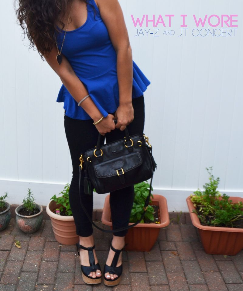 What I wore CONCERT 00 | Amanda Rose blog