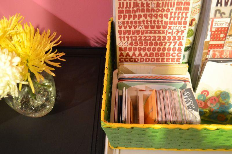 Mega Pink Craftroom Reorganized 09 01 | Amanda Rose blog