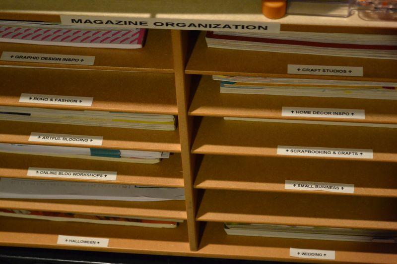 Mega Pink Craftroom Reorganized 15 | Amanda Rose blog