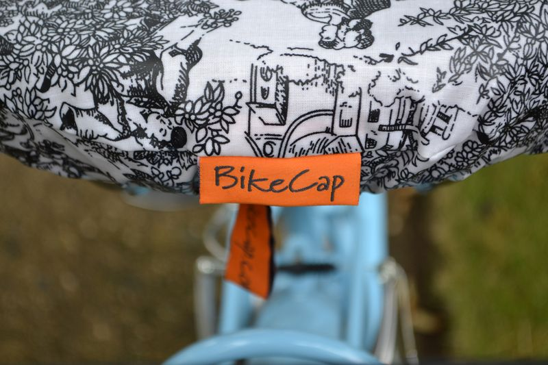 Eleanor's Bike Seat Cover review 03 | Amanda Rose blog