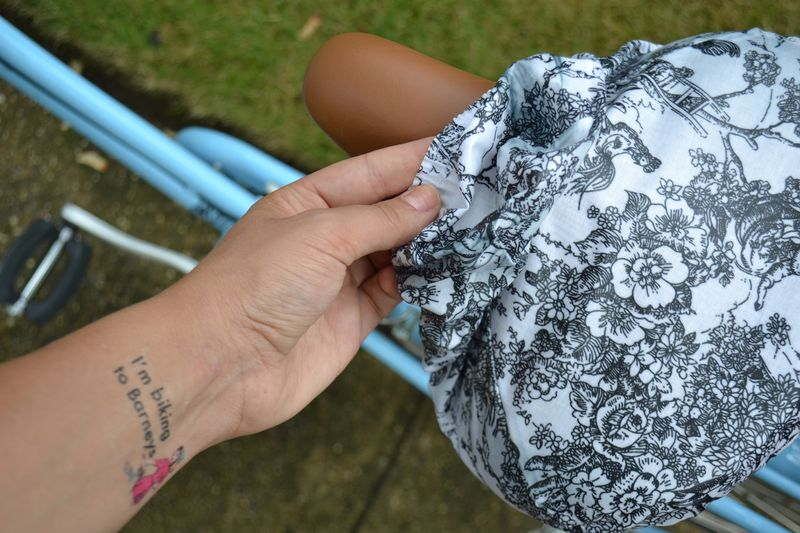 Eleanor's Bike Seat Cover review 06 | Amanda Rose blog