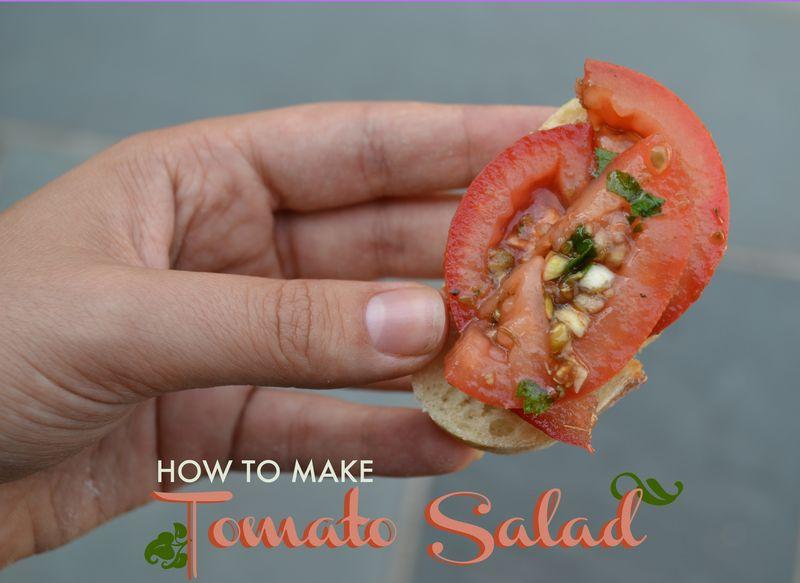 Tomatoe Salad 01 | Amanda Rose blog