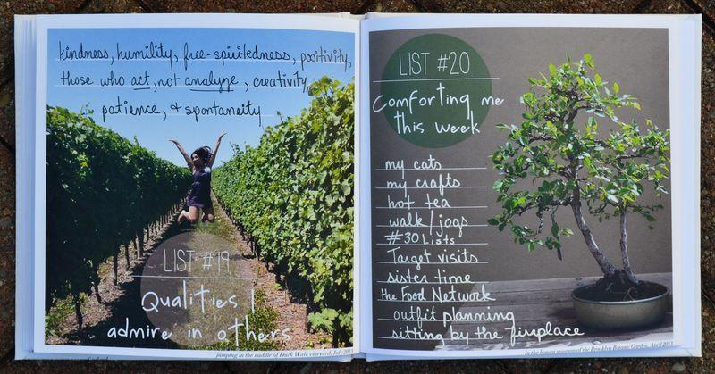 Lists 19 and 20 | Amanda Rose blog