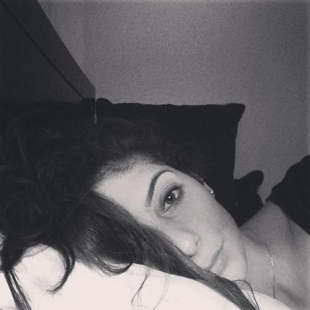 Me, sleepy