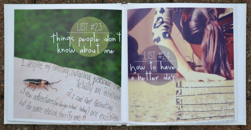 Lists 23 and 24 | Amanda Rose blog