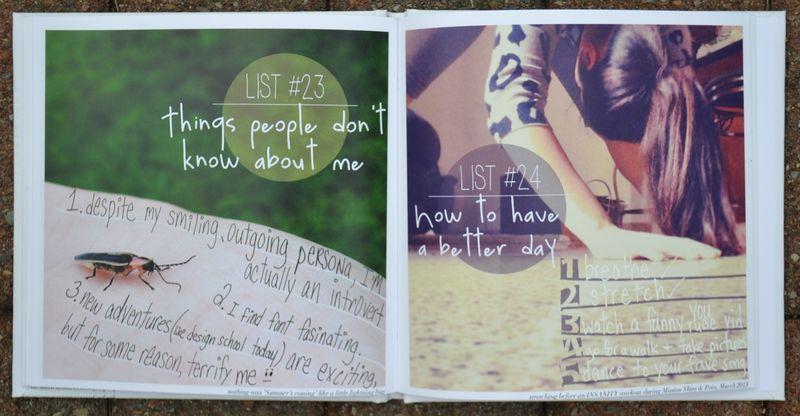 Lists 23 and 24 | Amanda Rose blog