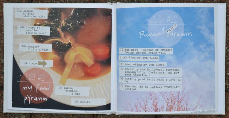 Lists 21 and 22 | Amanda Rose blog