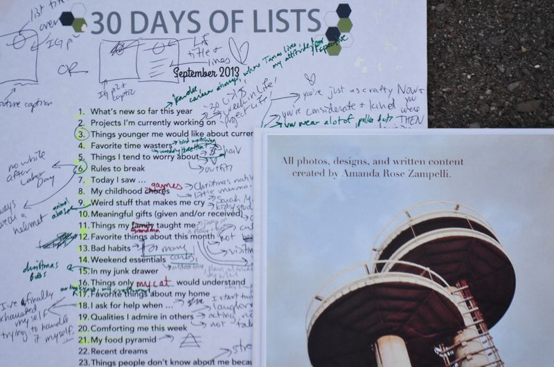 List 31 | finished Sept 2013 list book