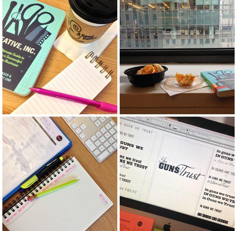 Graphic design school collage 02