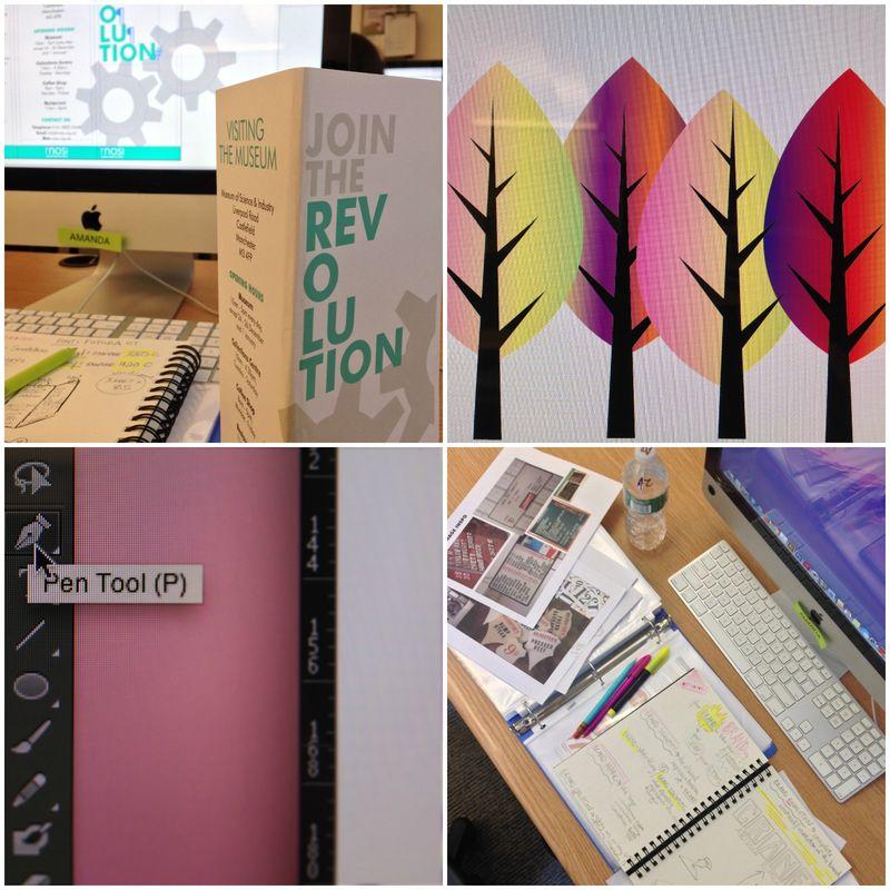 One month of design school collage 01 | Amanda Rose blog