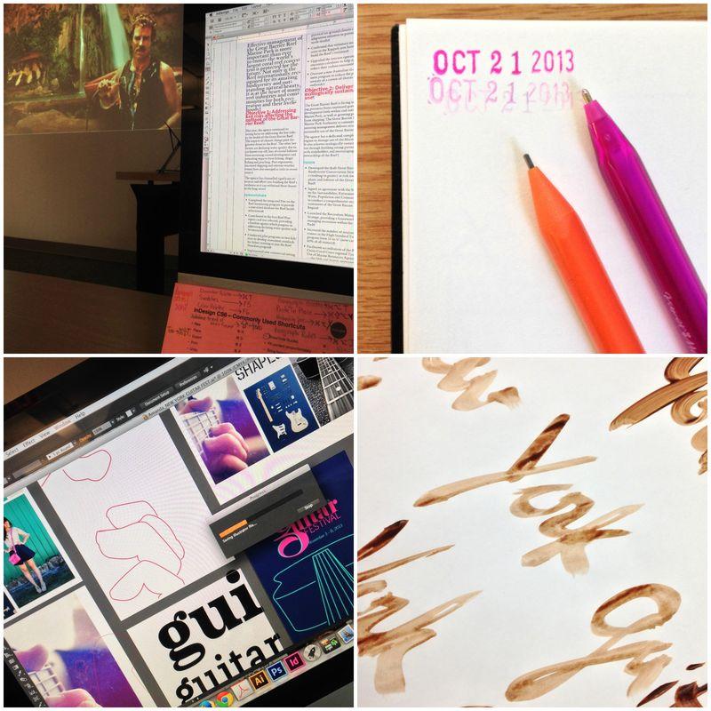 One month of design school collage 04 | Amanda Rose blog