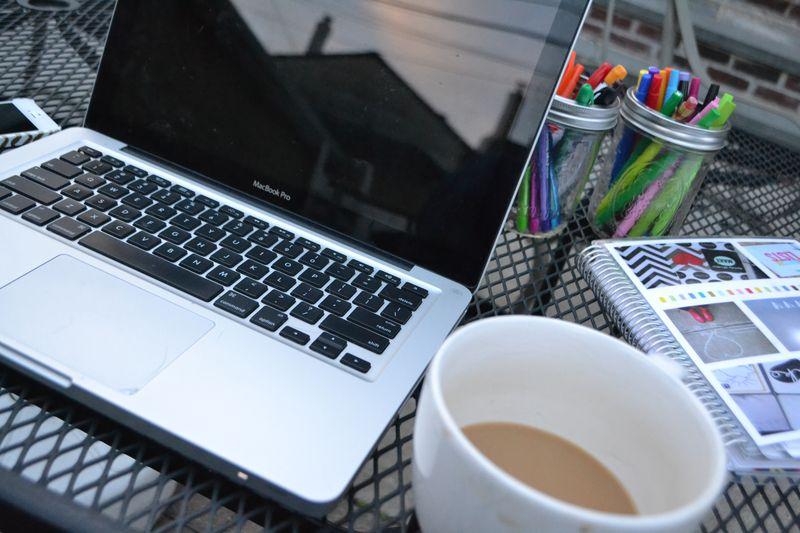 Fall weekending outside office | Amanda Rose blog