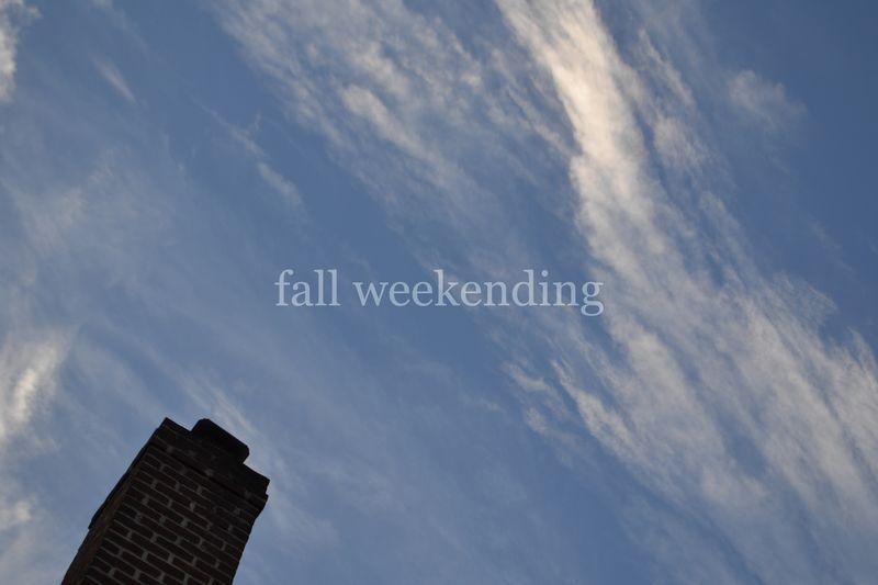 Fall weekending 01 | Amanda Rose blog