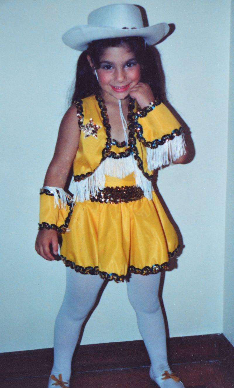 Halloweens Past | Cowgirl | Amanda Rose blog